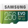 Carte mémoire Samsung 256 Go MicroSDXC Evo Select U3 (100 Mo/s) à 30,16 € livrée