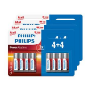 Lot de 32 piles Philips AA à 7,99 €