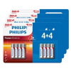 Lot de 32 piles Philips AAA à 7,99 €