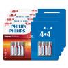 Lot de 32 piles Philips AAA à 7,99 €