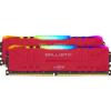 Kit de 32 Go (2x8Go) de mémoire DDR4 Crucial Ballistix 3600 MHz RGB 147,90 €