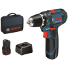 Perceuse sans-fil Bosch Professional GSR 12V-15 + 2 batteries 2 AH à 99,99 €
