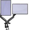 Support Invision articulé pour 2 écrans PC de 17 à 27 pouces à 45,89 € (via coupon)