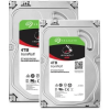 Pack de 2 disques durs Seagate NAS Iron Wolf 4 To à 199,99 €