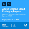Adobe Creative Cloud pour la photo (Adobe Photoshop CC et Lightroom) à 94,99 €