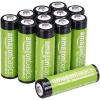 12 Piles rechargeables AmazonBasics AA 2000 mAh à 14,99 € [Amazon Prime]
