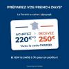 Carte cadeau bonifiée Cdiscount de 250 € pour 220 € avec le code CKDO30