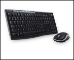 Pack clavier-souris Logitech Desktop MK270
